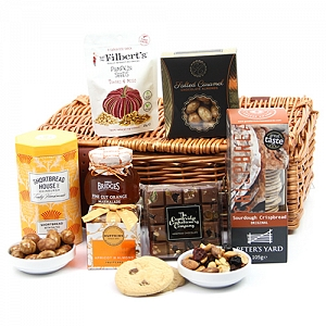 Nutty Nibbles Hamper Delivery to UK