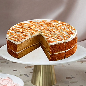 Toffee Sponge Cake Delivery to UK