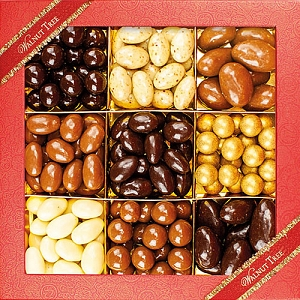 Assorted Chocolate Covered Nut Box