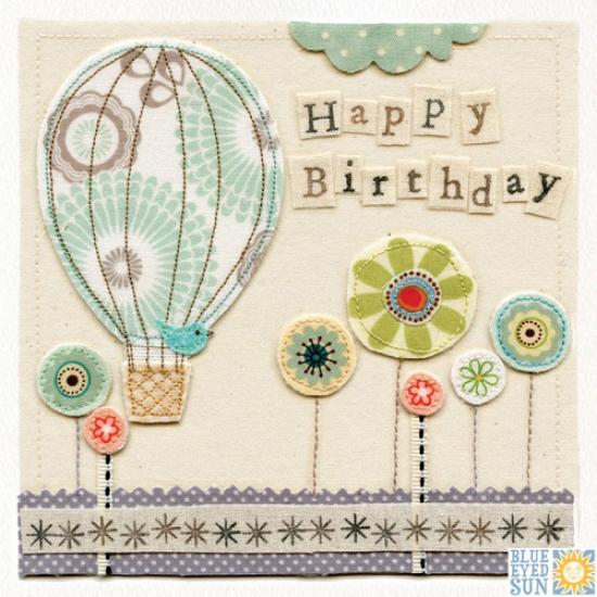 Birthday Balloon Card