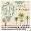 Birthday Balloon Card