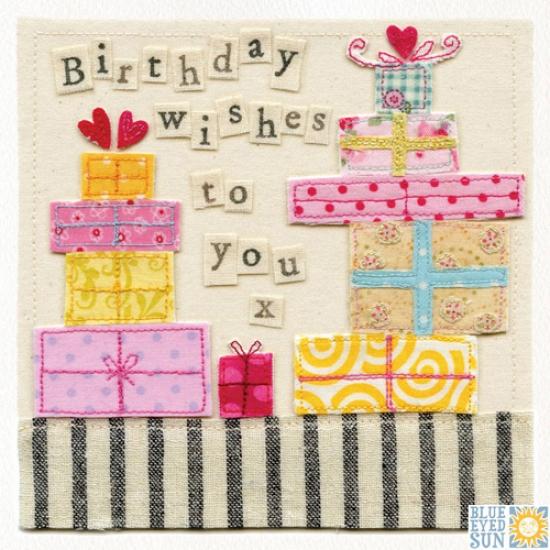 Birthday Presents Card