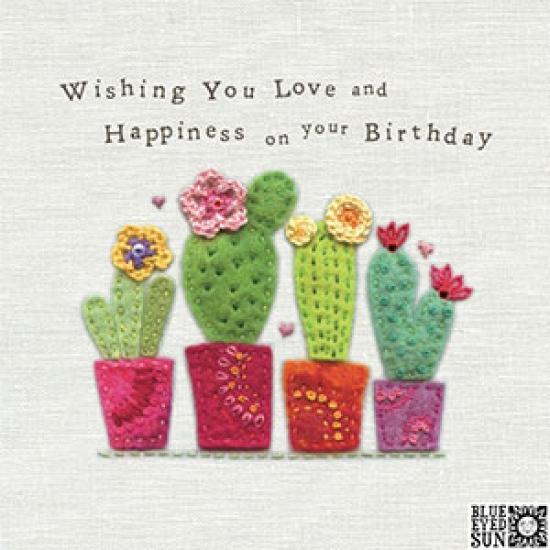 Birthday Cactus Card