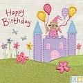 Castle Birthday Card