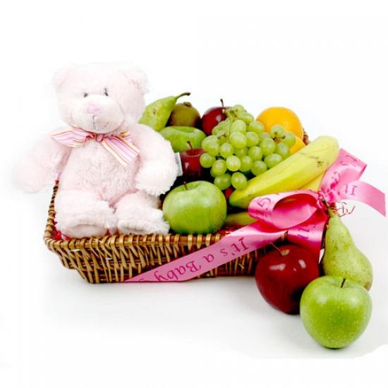 Baby Girl Fruit Hamper delivery to UK [United Kingdom]