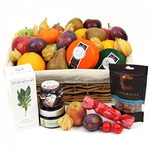 Fall Fruit and Cheese Hamper
