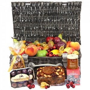 Fall Chocolate Fruit Hamper Delivery to UK