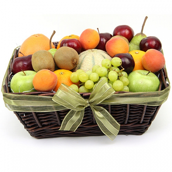Late Summers Fruit Basket Delivery to UK