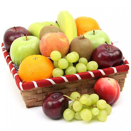 Nectarous Treats Fruit Basket Delivery to UK