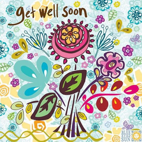 Marimba Get Well Soon Card