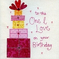 Gorgeous Love Birthday Card