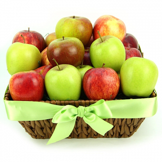 Apples Delight Fruit Basket delivery to UK [United Kingdom]