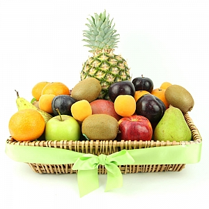 Seasons Delight Fruit Basket delivery to UK [United Kingdom]