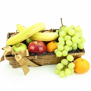 Tropical Bounty Fruit Basket delivery to UK [United Kingdom]