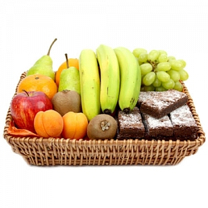 Delight Fruit Basket delivery to UK [United Kingdom]