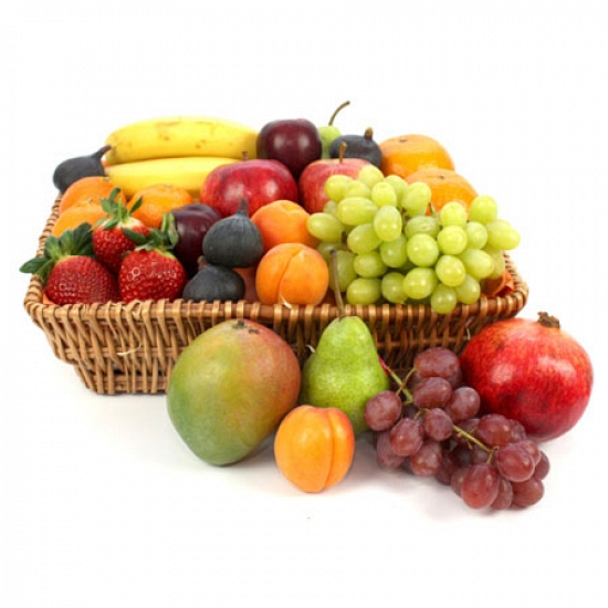 Get Well Soon Fruit Basket delivery to UK